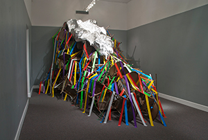 installation at Wright Museum of Art in Beloit, Wisconsin